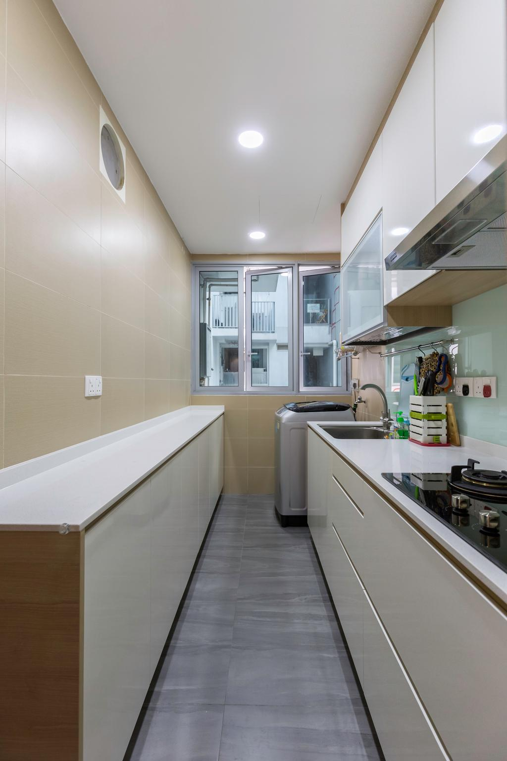 Modern, Condo, Kitchen, Canberra Residences, Interior Designer, Starry Homestead, Scandinavian