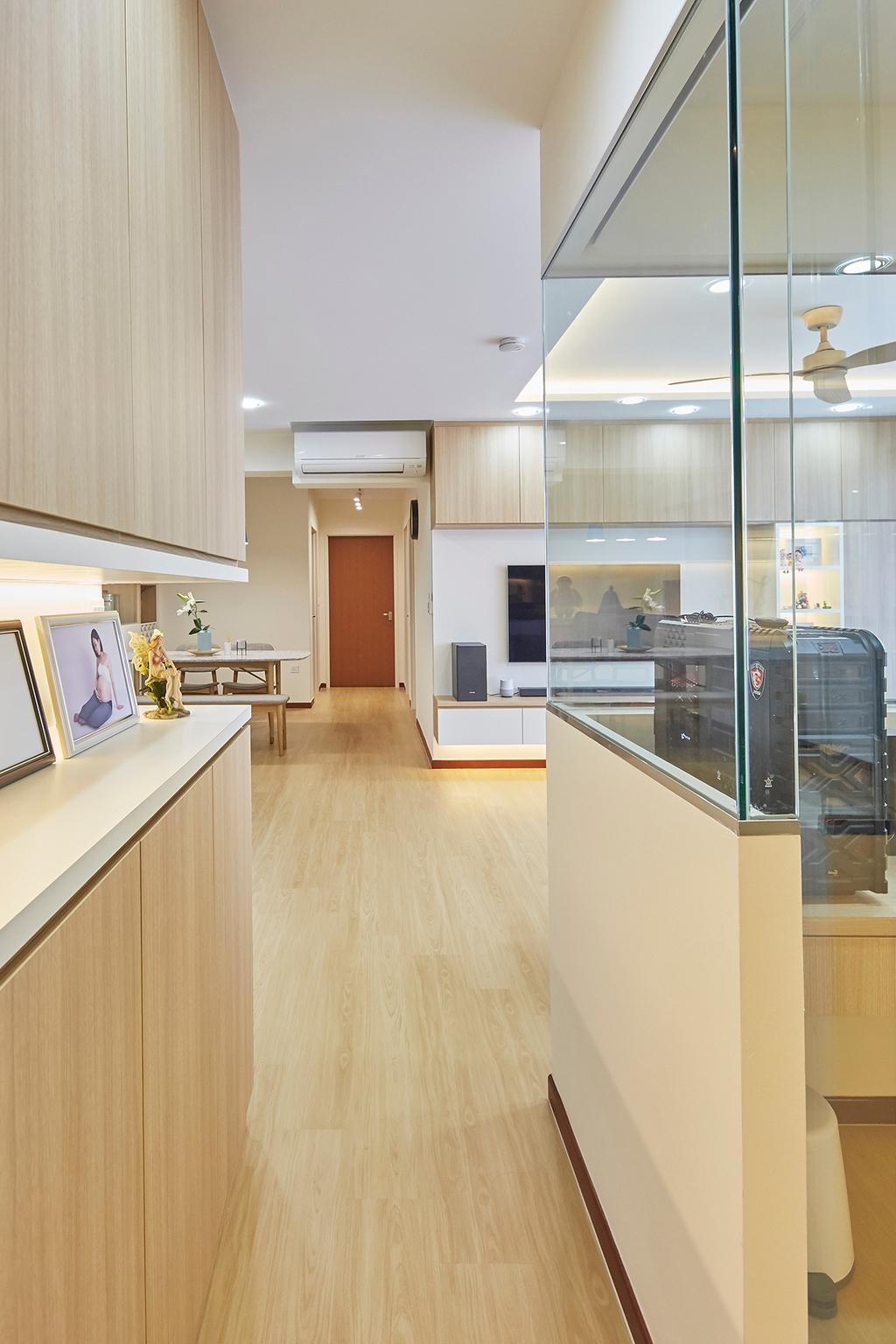 Modern, HDB, Living Room, Tampines GreenRidges, Interior Designer, The Interior Lab