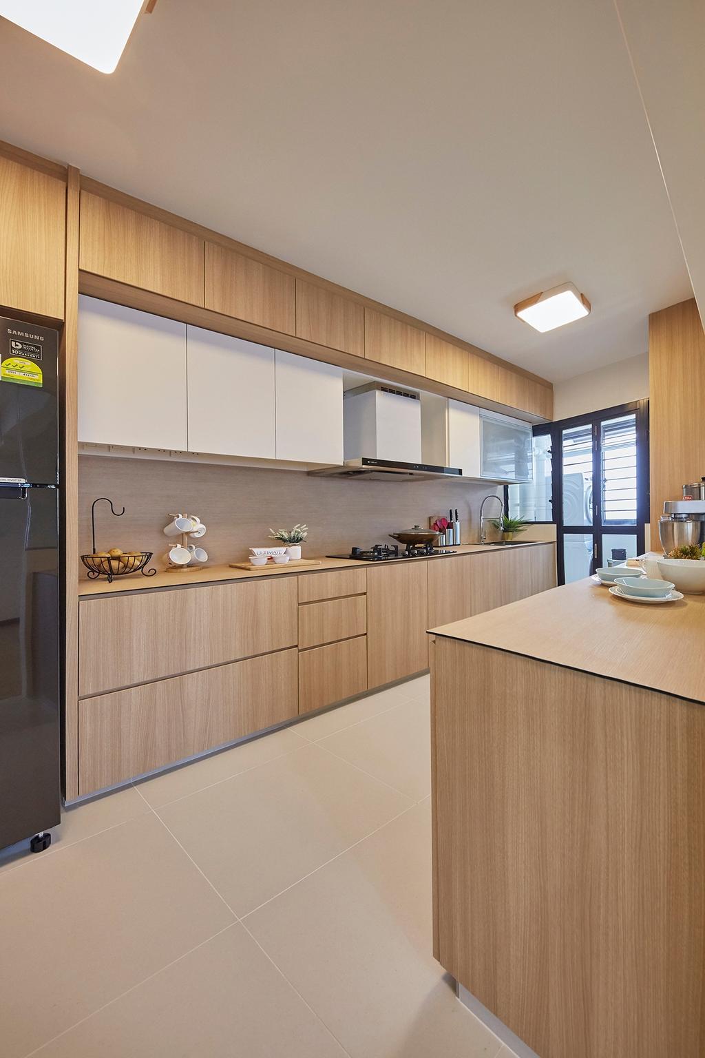 Modern, HDB, Kitchen, Tampines GreenRidges, Interior Designer, The Interior Lab
