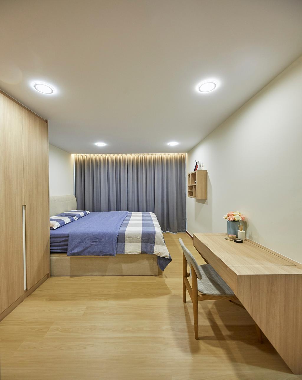 Modern, HDB, Bedroom, Tampines GreenRidges, Interior Designer, The Interior Lab