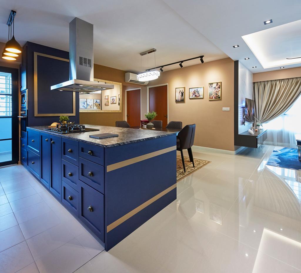 Contemporary, HDB, Kitchen, Teck Ghee Parkview, Interior Designer, The Interior Lab