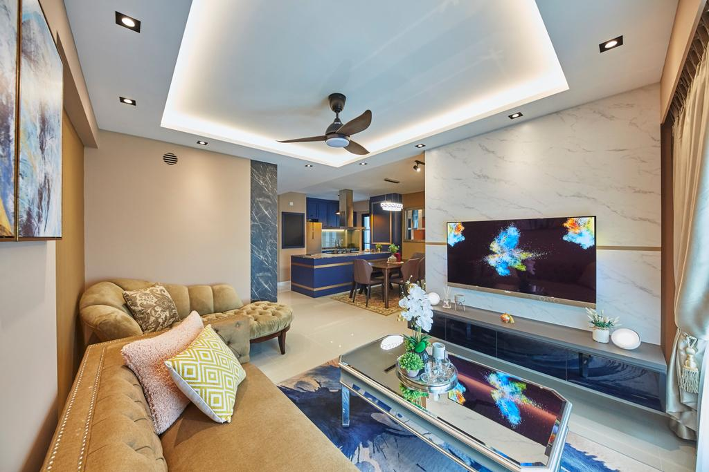 Contemporary, HDB, Living Room, Teck Ghee Parkview, Interior Designer, The Interior Lab