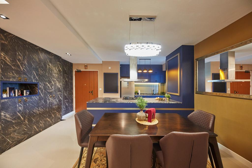 Contemporary, HDB, Dining Room, Teck Ghee Parkview, Interior Designer, The Interior Lab