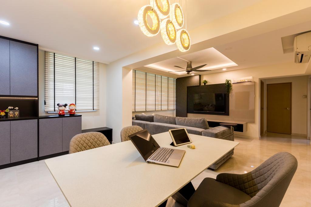 Modern, HDB, Dining Room, Bishan Street 22 (Block 251), Interior Designer, The Interior Place