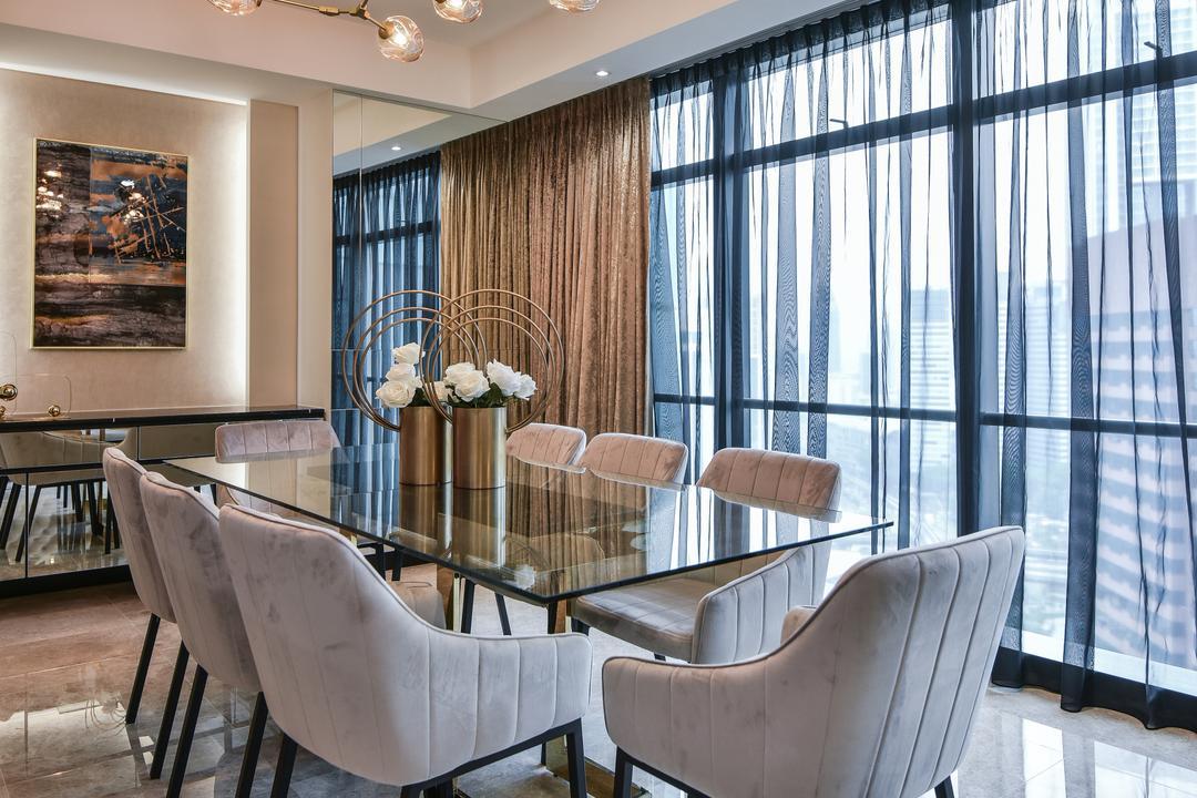 Ritz Carlton Residence, Kuala Lumpur by Blaine Robert Design Sdn. Bhd.