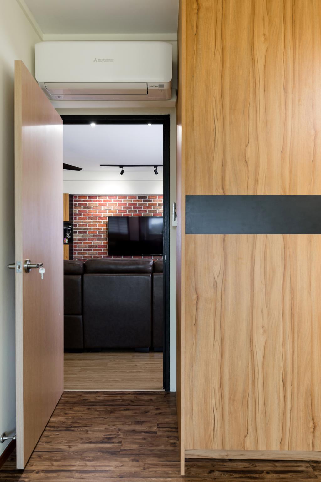 Modern, HDB, Bedroom, Pasir Ris Street 71, Interior Designer, GB Interior Design, Scandinavian