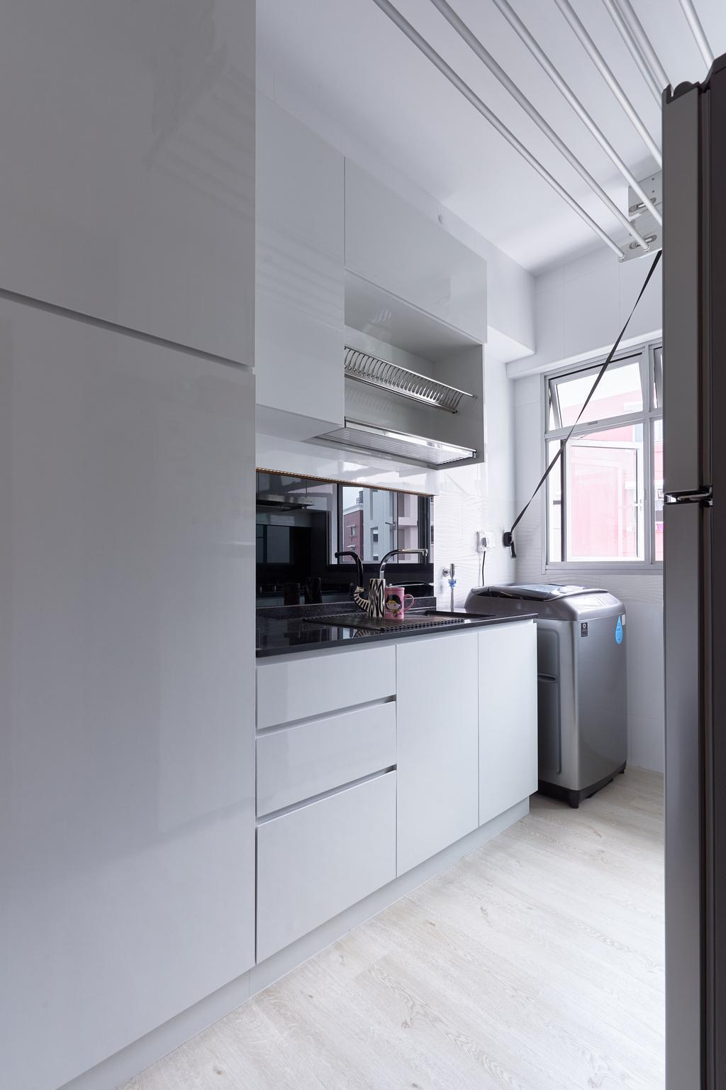 Contemporary, HDB, Kitchen, Bukit Batok West Avenue 5 (Block 436A), Interior Designer, EA Interior Design, Scandinavian