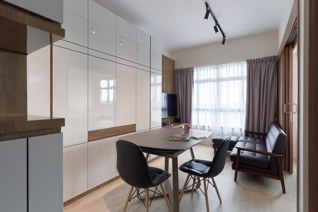 Contemporary, HDB, Living Room, Bukit Batok West Avenue 5 (Block 436A), Interior Designer, EA Interior Design, Scandinavian