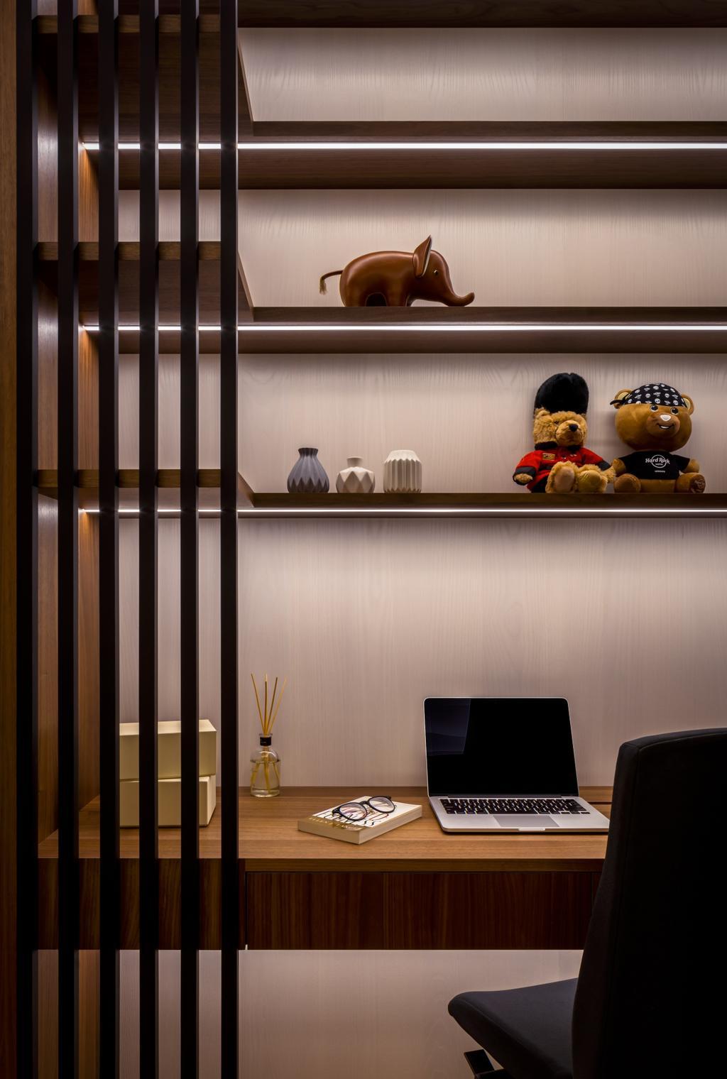 Modern, Condo, Study, Bishopsgate Residences, Interior Designer, Summerhaus D'zign, Contemporary