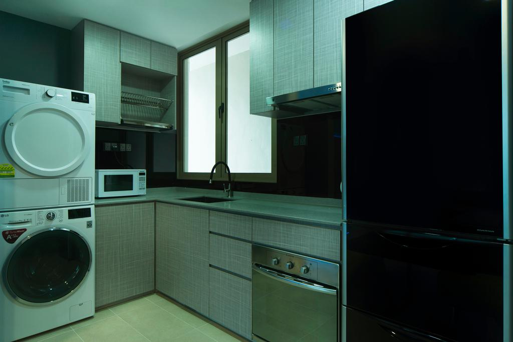 Modern, Condo, Kitchen, The Florentine, Interior Designer, Cozy Ideas Interior Design