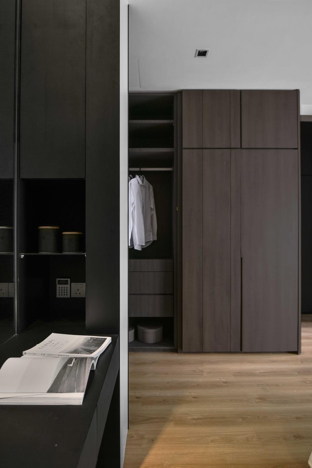 Minimalistic, Condo, Bedroom, Taman Sri Gadong, Klang, Interior Designer, PINS Studio, Contemporary