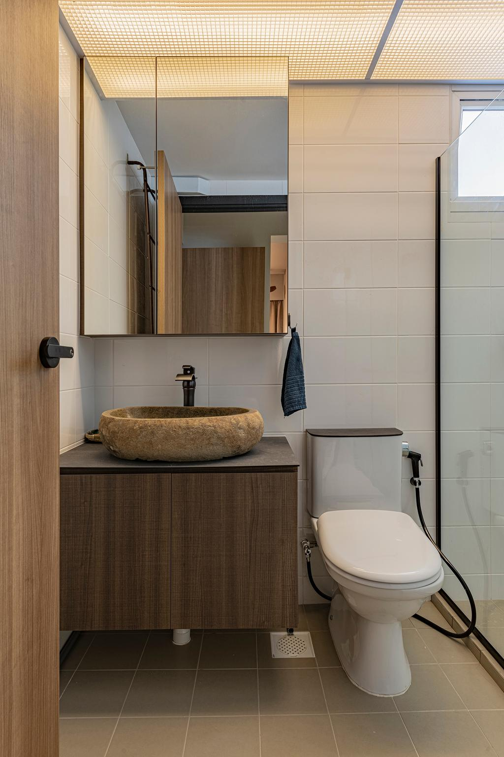 Modern, HDB, Bathroom, Bukit Batok West Avenue 6, Interior Designer, Zenith Arc, Scandinavian