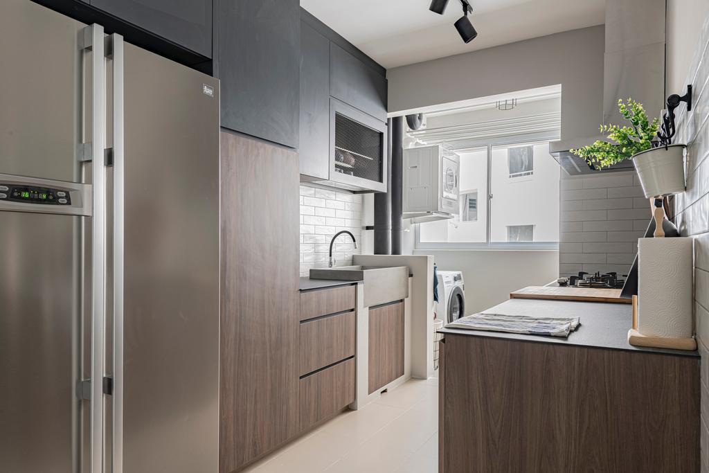 Modern, HDB, Kitchen, Bukit Batok West Avenue 6, Interior Designer, Zenith Arc, Scandinavian