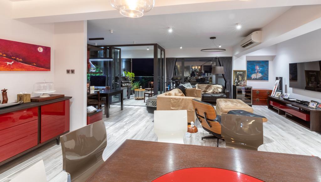 私家樓, 客廳, 華亭閣, 室內設計師, Leehar Home