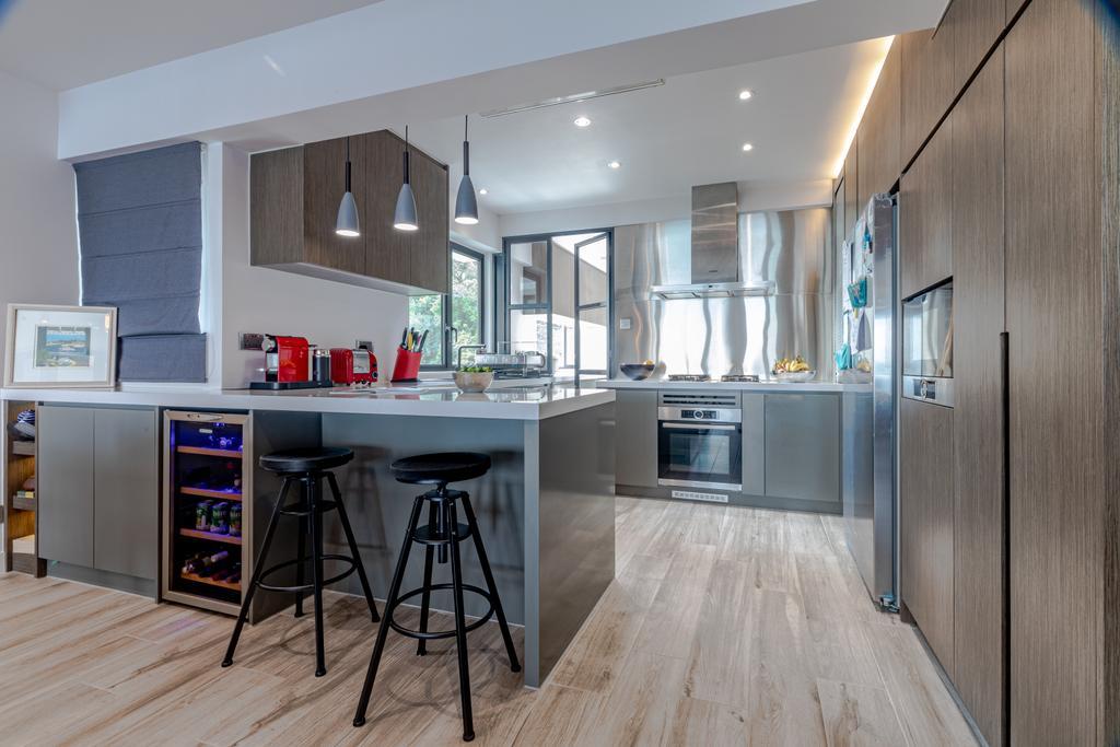 私家樓, 廚房, 華亭閣, 室內設計師, Leehar Home