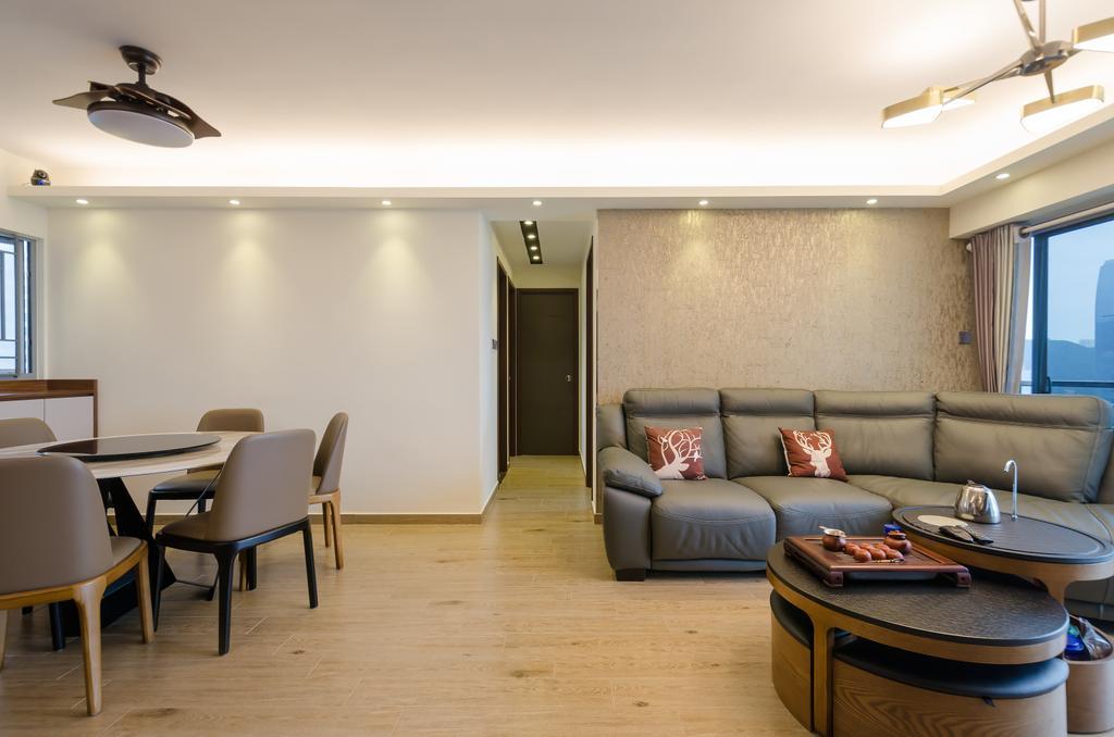 摩登, 私家樓, 嘉亨灣, 室內設計師, Epic, 簡約