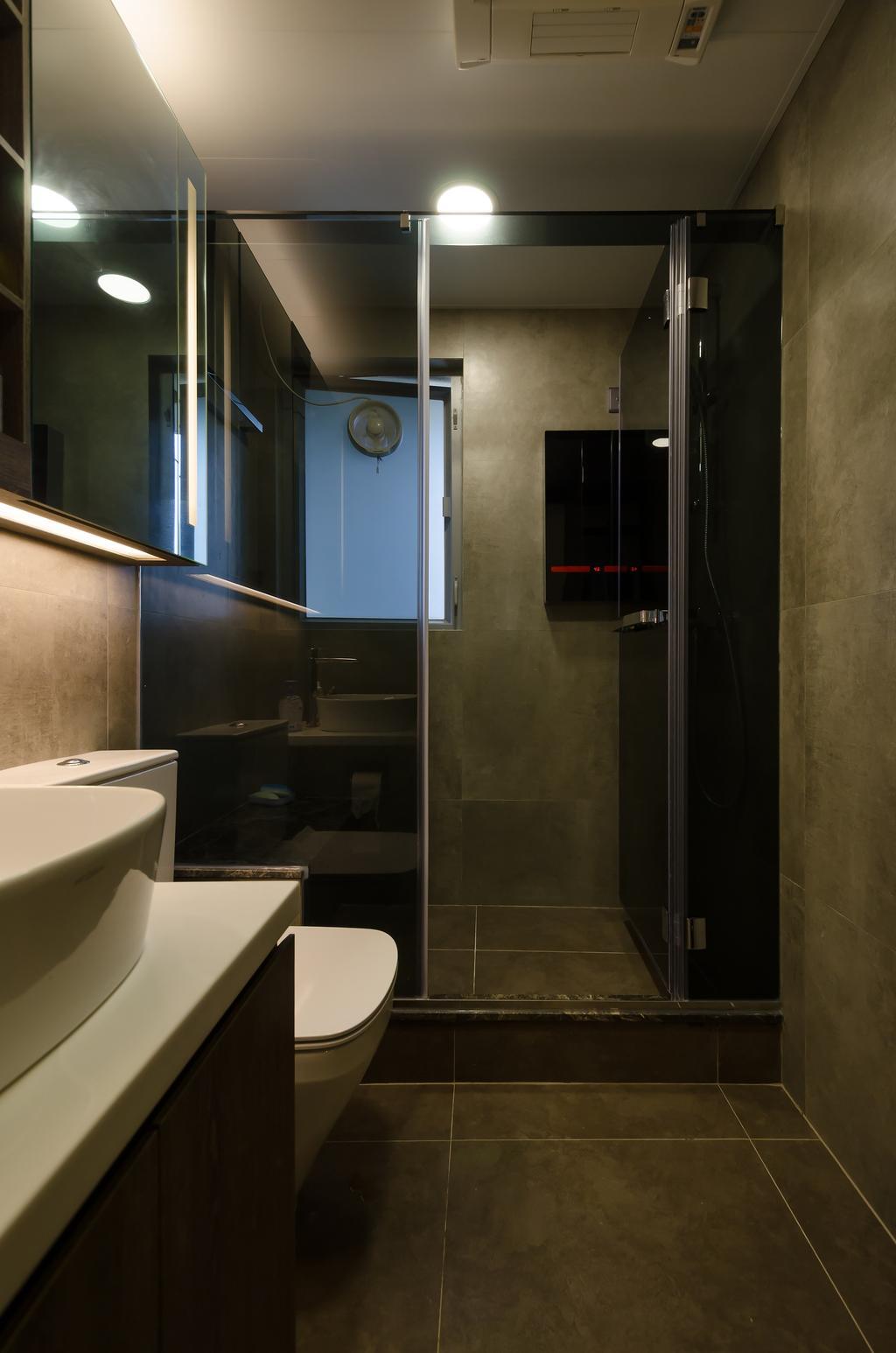 摩登, 私家樓, 浴室, 嘉亨灣, 室內設計師, Epic, 簡約