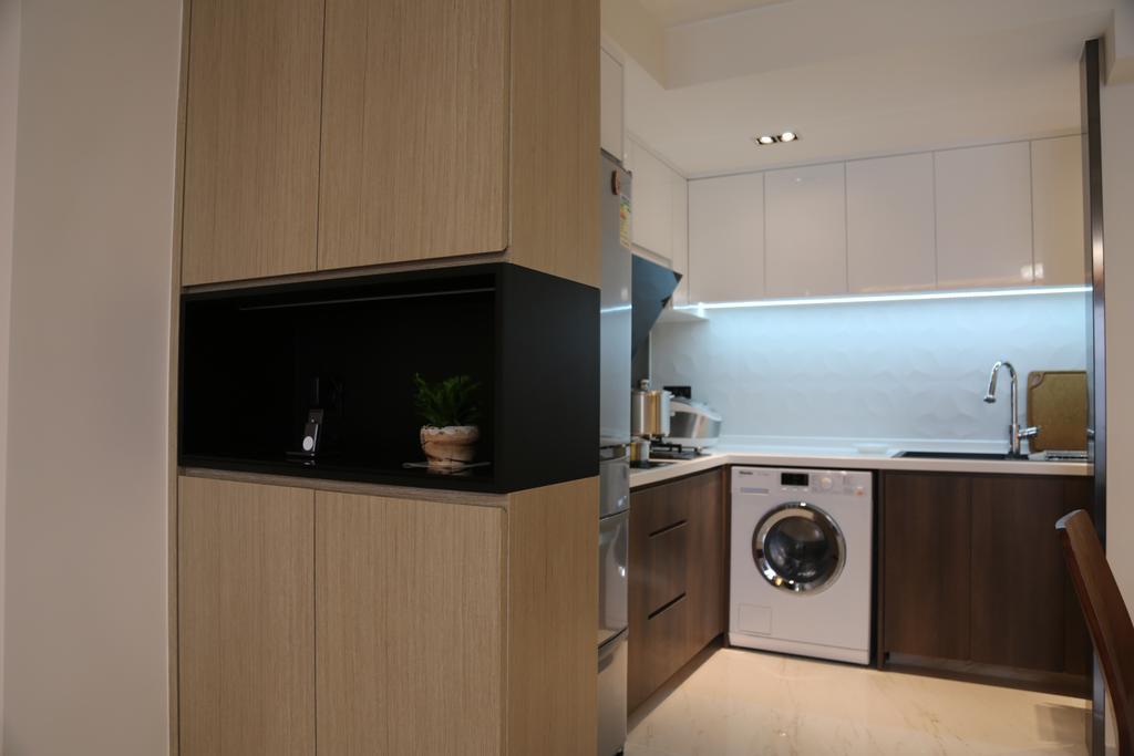 摩登, 私家樓, 廚房, 城市花園4座, 室內設計師, Epic, 簡約