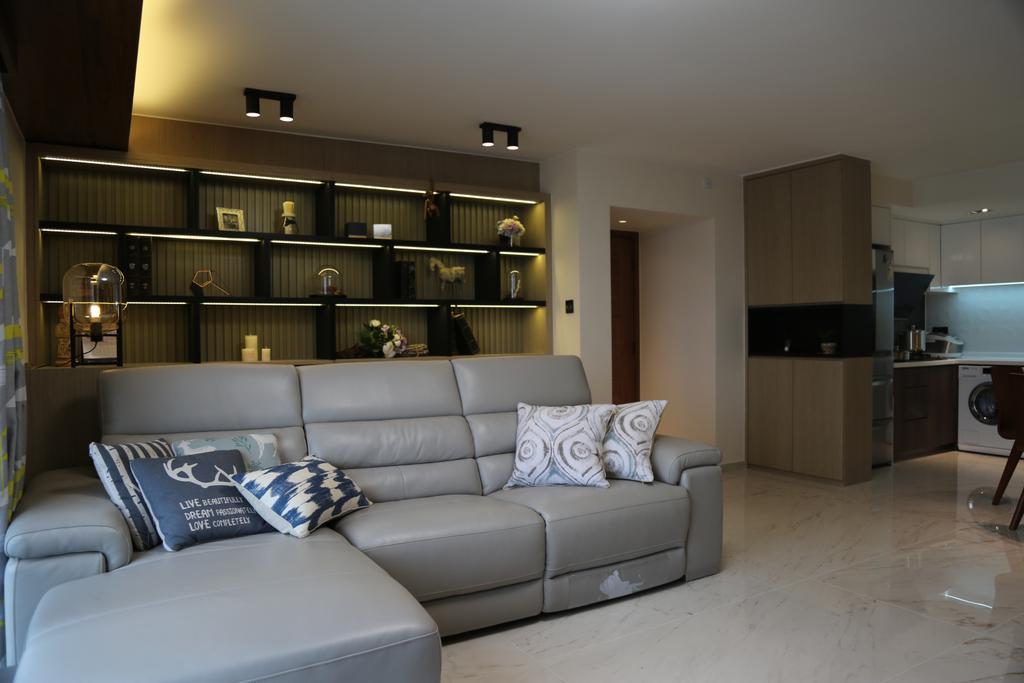 摩登, 私家樓, 城市花園4座, 室內設計師, Epic, 簡約