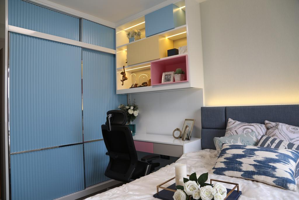 摩登, 私家樓, 睡房, 城市花園4座, 室內設計師, Epic, 簡約