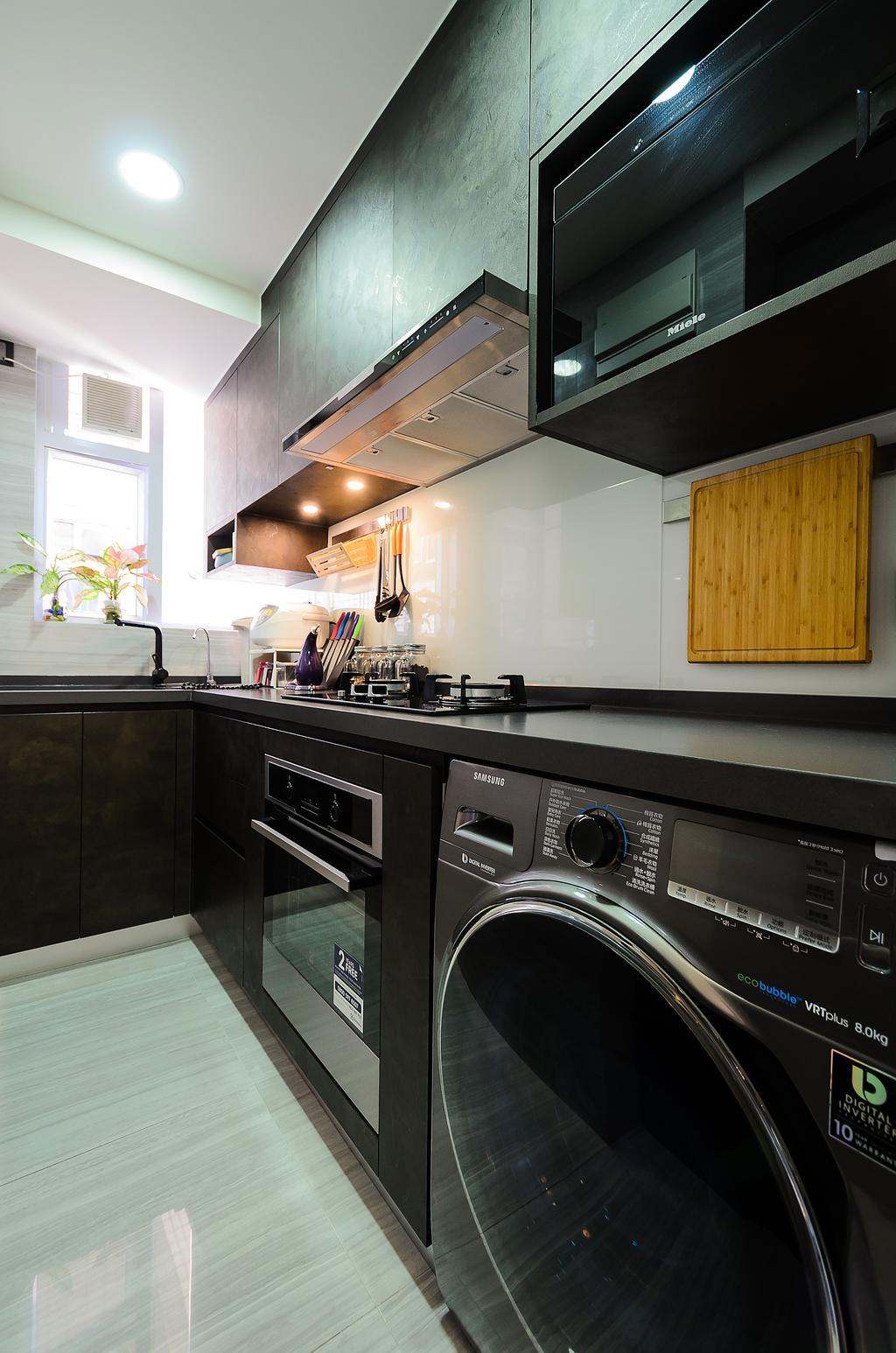 簡約, 私家樓, 廚房, 寶雲閣, 室內設計師, Epic, 摩登