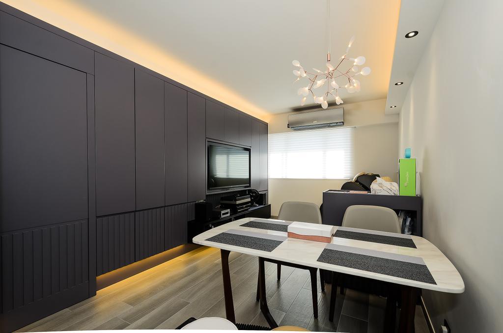 簡約, 私家樓, 飯廳, 寶雲閣, 室內設計師, Epic, 摩登