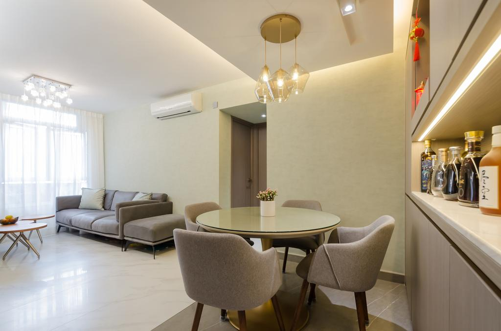 簡約, 私家樓, 飯廳, 將軍澳煜明苑, 室內設計師, Epic, 摩登