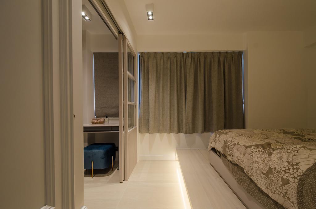簡約, 私家樓, 睡房, 鯉景灣安明閣, 室內設計師, Epic, 摩登