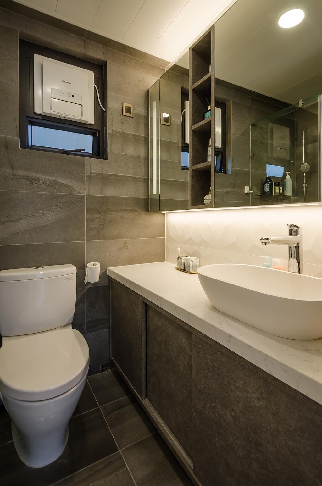 簡約, 私家樓, 浴室, 鯉景灣安明閣, 室內設計師, Epic, 摩登