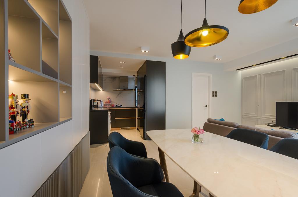 簡約, 私家樓, 客廳, 鯉景灣安明閣, 室內設計師, Epic, 摩登