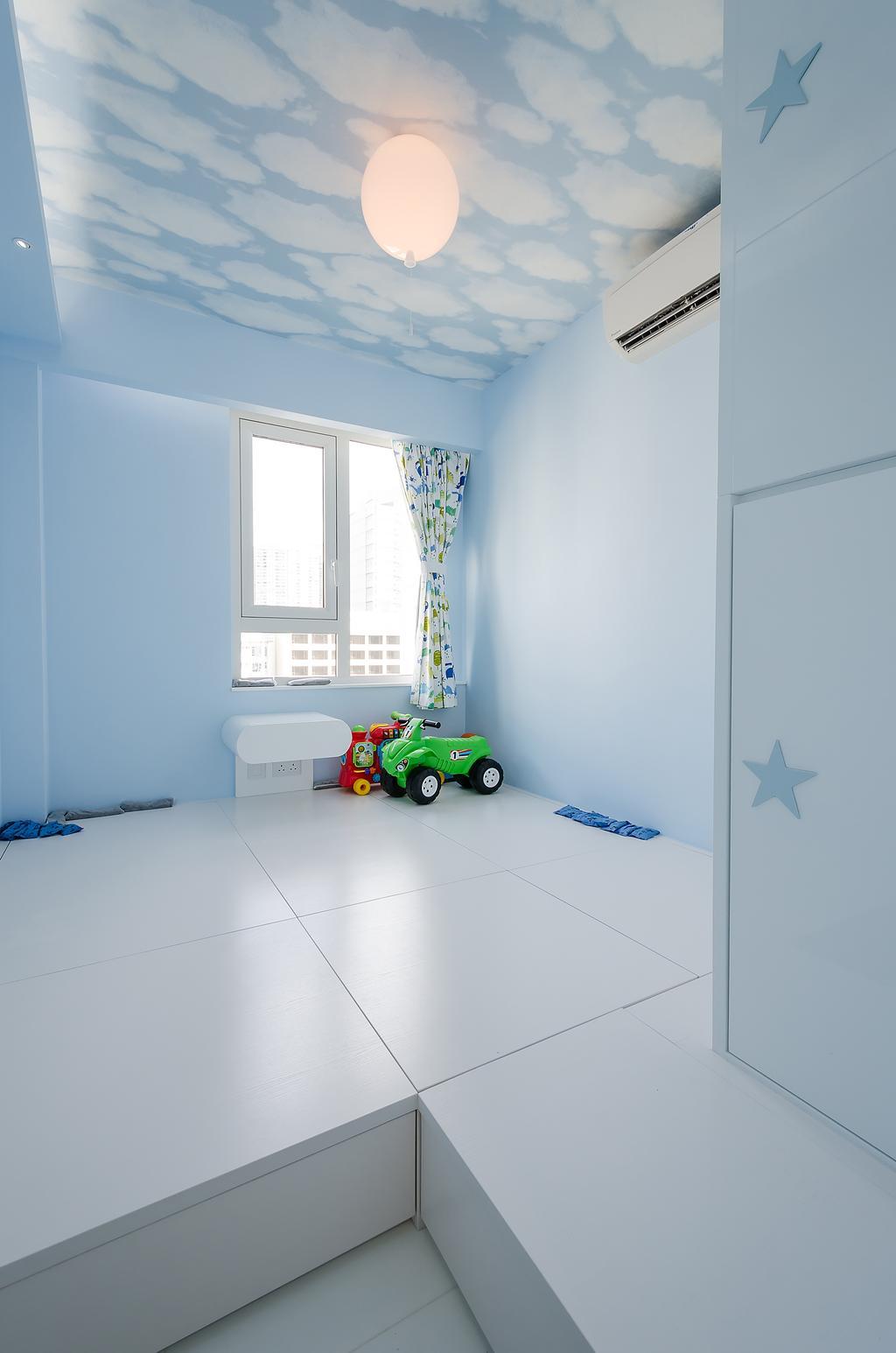 簡約, 私家樓, 睡房, 城市花園, 室內設計師, Epic, 摩登