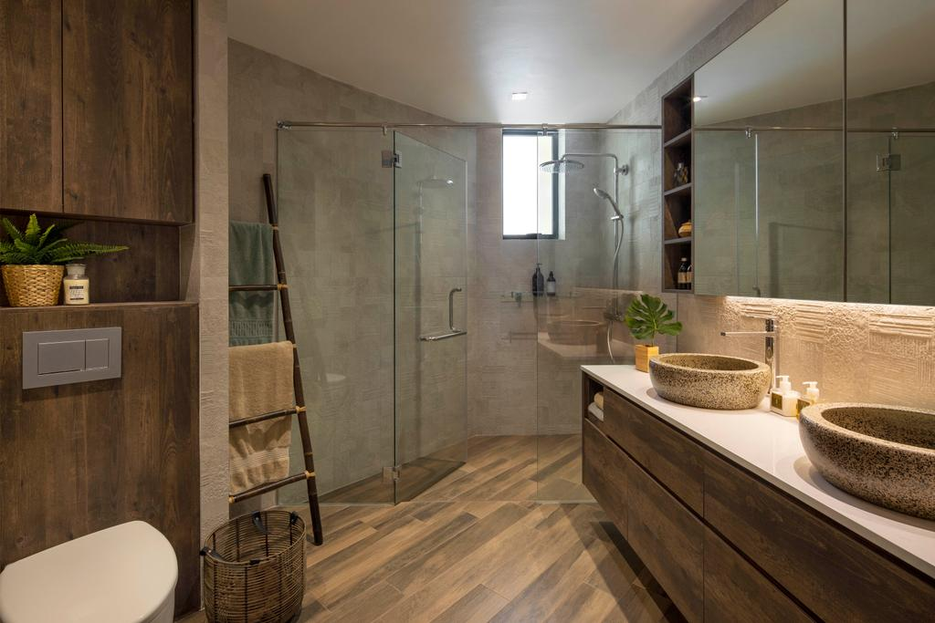 Contemporary, Condo, Bathroom, Pebble Bay, Interior Designer, Home Philosophy