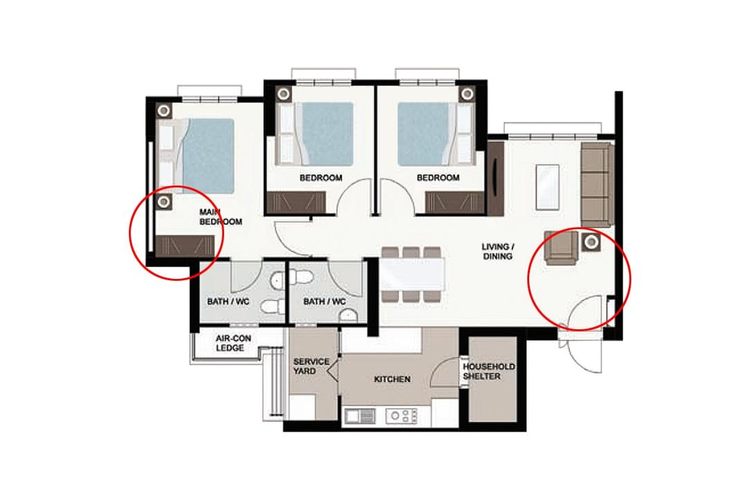 layouts for 4-room hdb