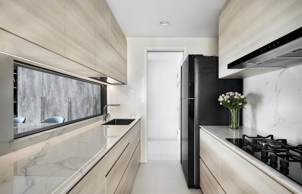 Modern, Condo, Kitchen, Riversound Residence, Interior Designer, Icon Interior Design