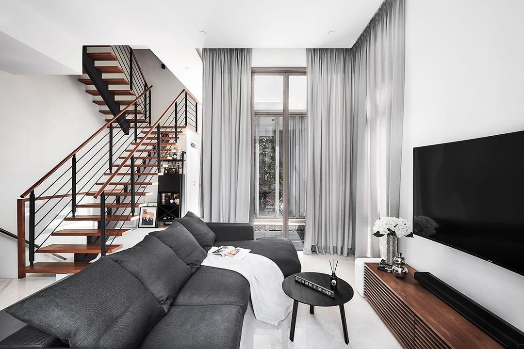 Chancery Lane Living Room Interior Design 9