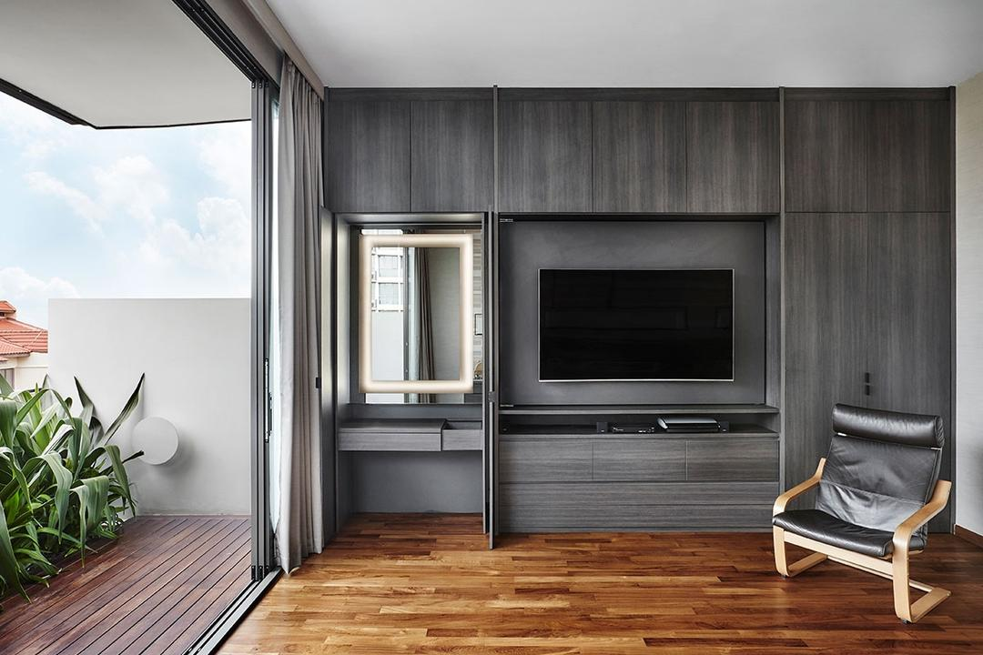 Jalan Langgar, Icon Interior Design, Contemporary, Bedroom, Landed, Vanity, Dressing Table