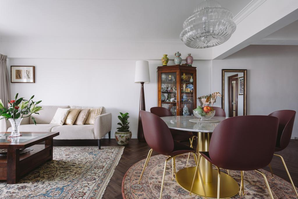 Vintage, Condo, Living Room, Neptune Court, Interior Designer, D Initial Concept, Eclectic