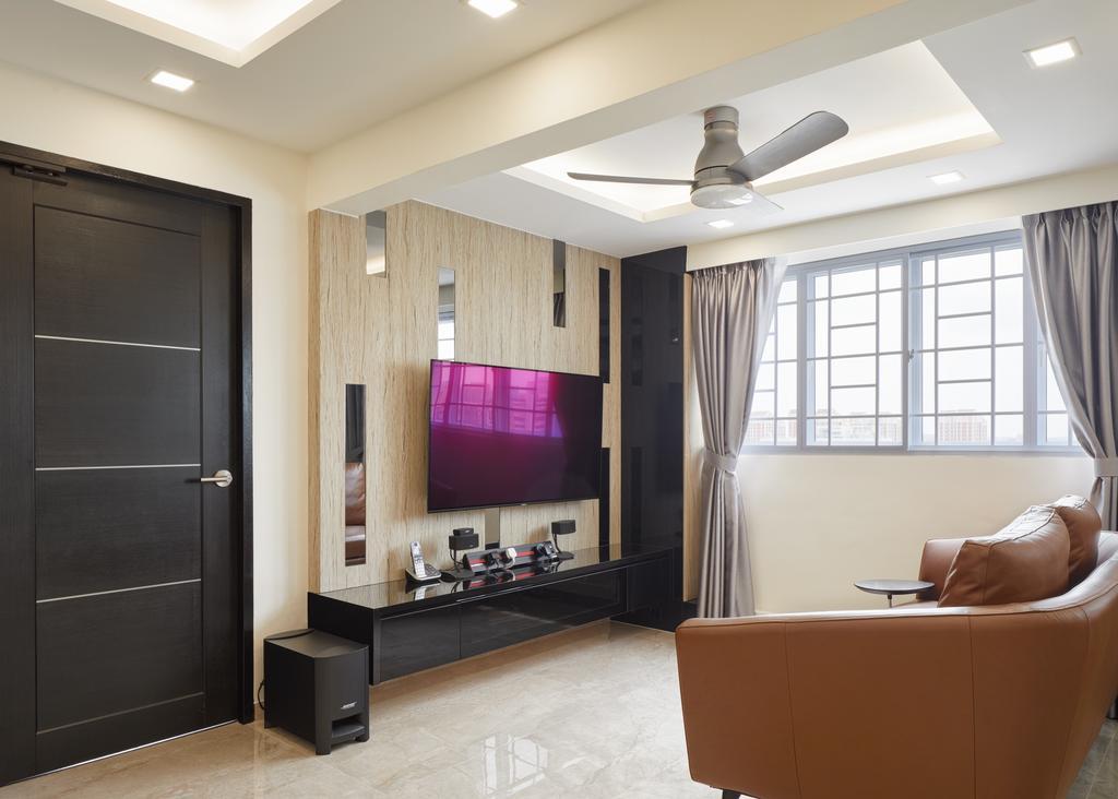 Contemporary, HDB, Living Room, Bishan Street 12, Interior Designer, Absolook Interior Design