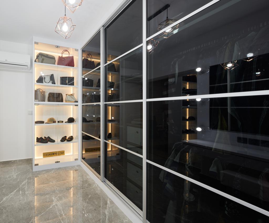 Contemporary, HDB, Sembawang Crescent (Block 365C), Interior Designer, Absolook Interior Design, Modern