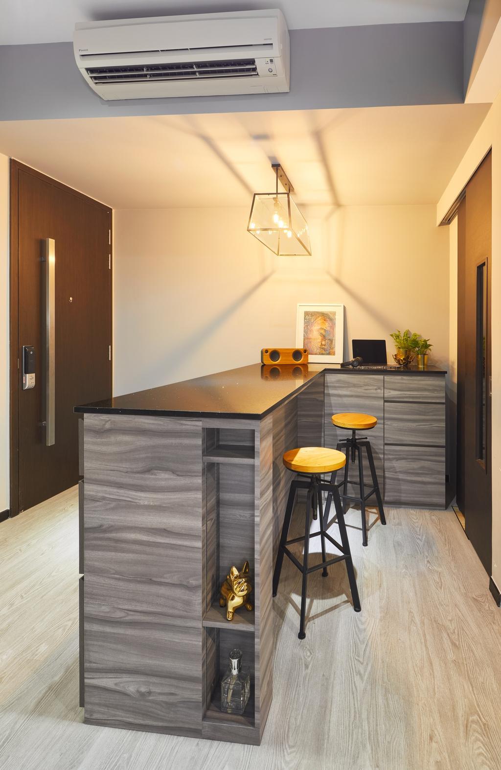 Contemporary, Condo, Dining Room, Sims Urban Oasis, Interior Designer, Absolook Interior Design