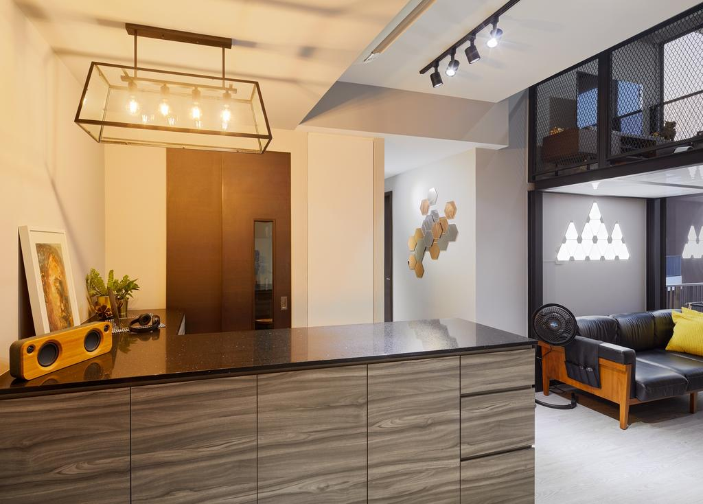 Contemporary, Condo, Sims Urban Oasis, Interior Designer, Absolook Interior Design