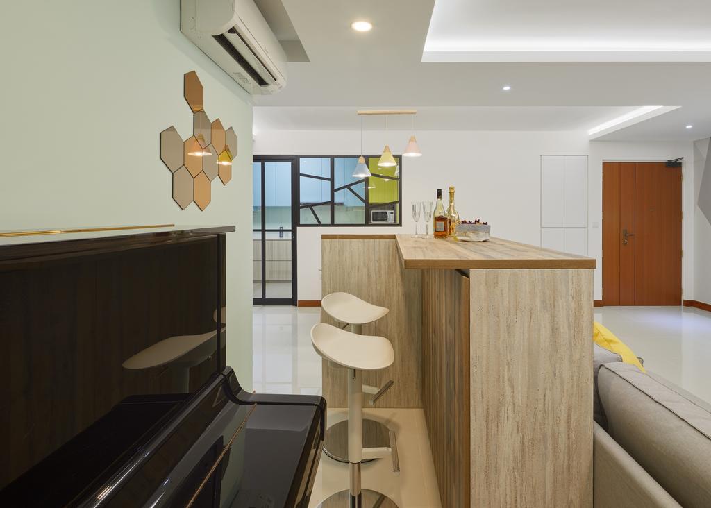 Contemporary, HDB, Skypeak @ Bukit Batok, Interior Designer, Absolook Interior Design