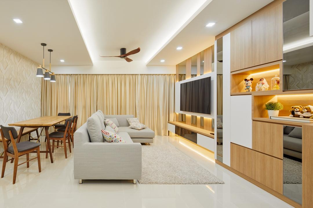 Sumang Walk (Block 322A) Living Room Interior Design 2