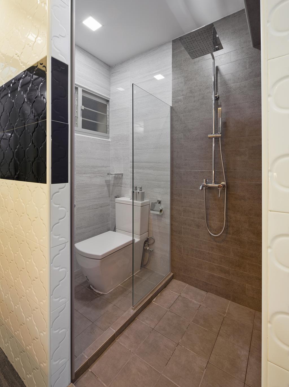 Contemporary, HDB, Bathroom, Teban Vista (Block 23), Interior Designer, Absolook Interior Design