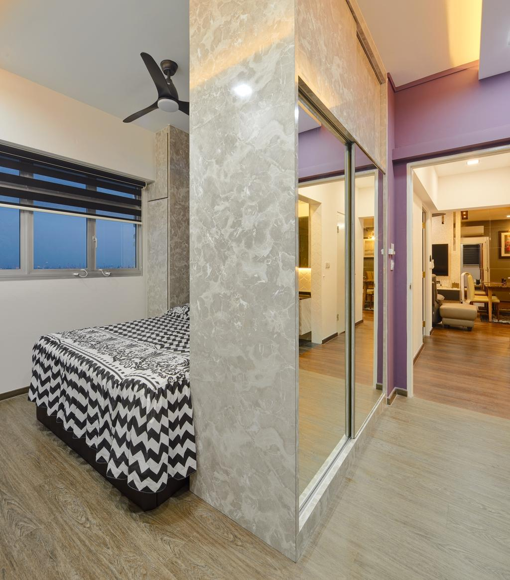 Contemporary, HDB, Bedroom, Teban Vista (Block 23), Interior Designer, Absolook Interior Design