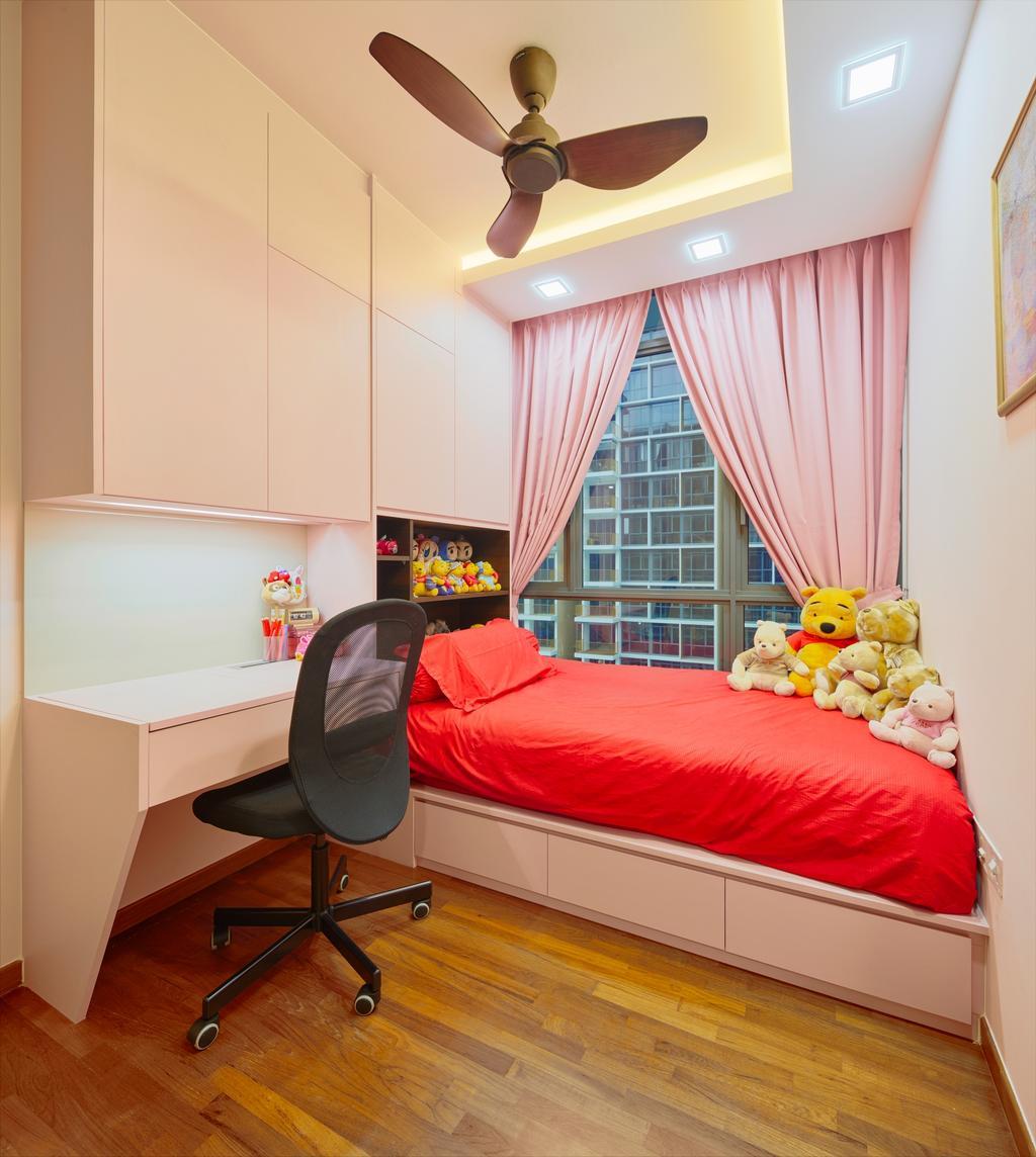 Contemporary, Condo, Bedroom, Wandervale, Interior Designer, Absolook Interior Design