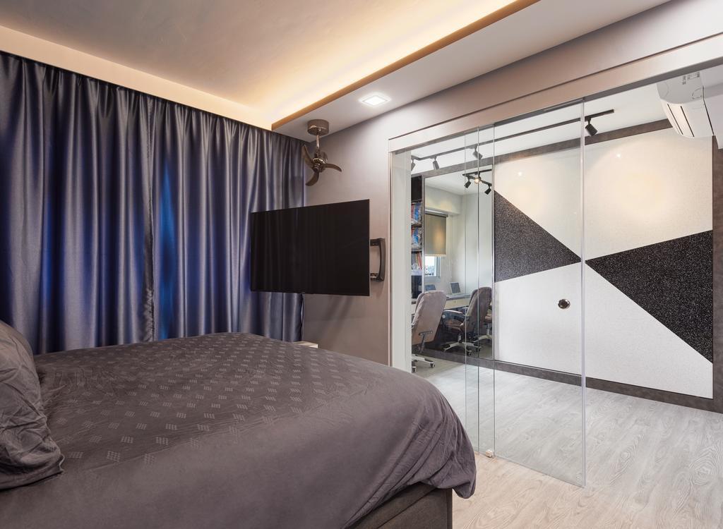 Contemporary, HDB, Bedroom, Yung Kuang Court (Block 166B), Interior Designer, Absolook Interior Design