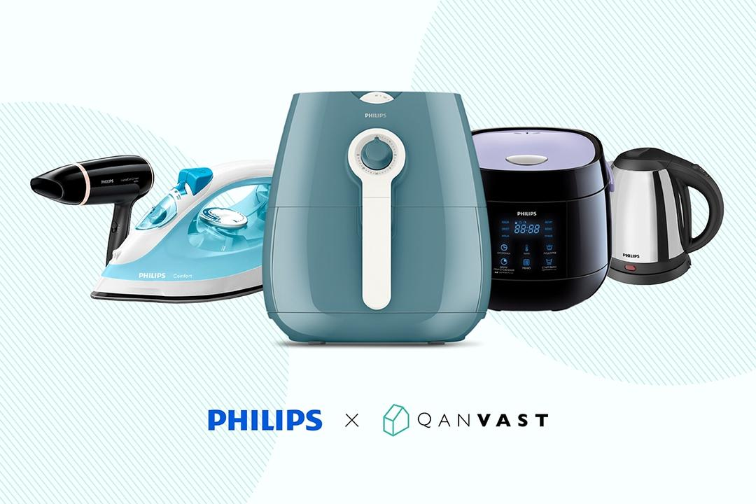Home Starter Pack with Philips: Redeem Free Home Appliances