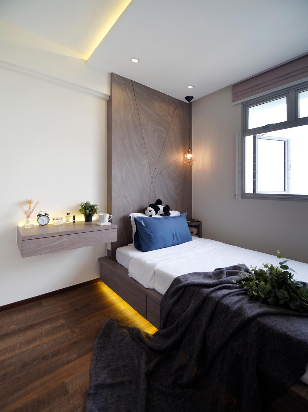Contemporary, HDB, Bedroom, Henderson Road, Interior Designer, Urban Habitat Design