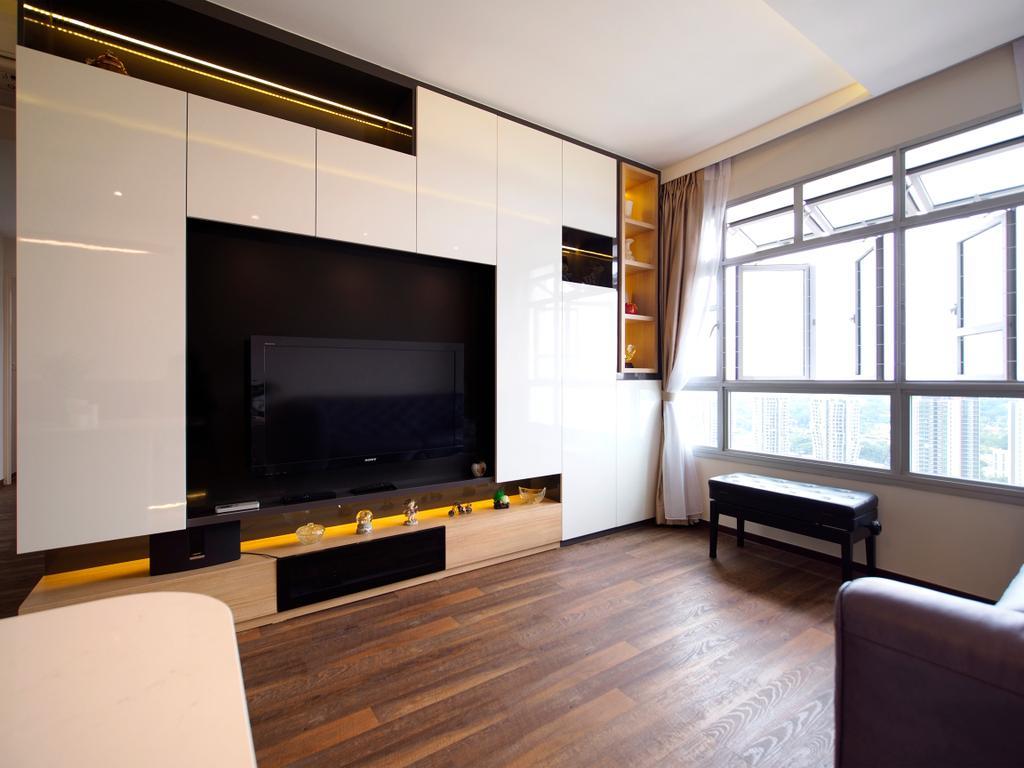 Contemporary, HDB, Living Room, Henderson Road, Interior Designer, Urban Habitat Design